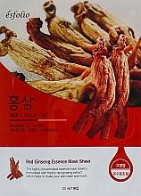 Kup Maska w płachcie z ekstraktem z żeń-szenia - Esfolio Red Ginseng Essence Mask Sheet