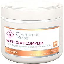 Kup PRZECENA! Maska łagodząco-nawilżająca do twarzy z białą glinką - Charmine Rose White Clay Complex*