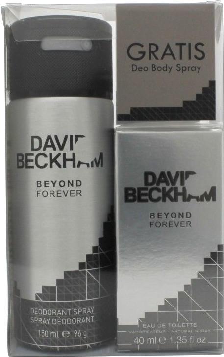 David Beckham Beyond Forever - Zestaw (edt 40ml + deo 150 ml) — фото N1