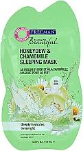 Kup Maska na noc do cery suchej Melon miodowy i rumianek - Freeman Feeling Beautiful Mask (mini)