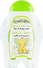 Kup Jabłkowe mydło pod prysznic dla dzieci do włosów i ciała z aloesem - Bluxcosmetics Naturaphy