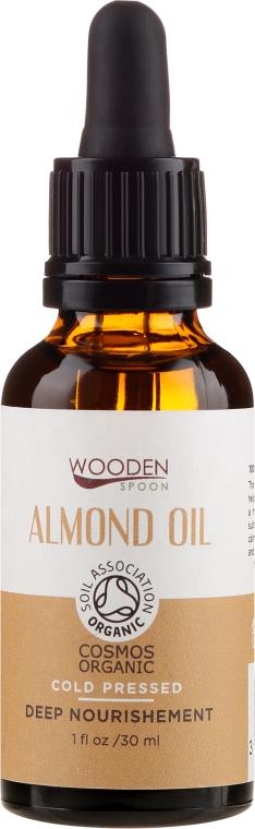 Olej migdałowy - Wooden Spoon Almond Oil — фото N1