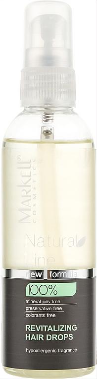Rewitalizujące krople do włosów - Markell Cosmetics Natural Line — фото N1