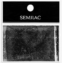 Kup Folia transferowa do zdobienia paznokci - Semilac 06 Transfer Nagelfolie Semilac Black Lace