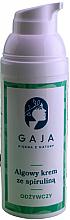 Kup Odżywczy algowy krem ze spiruliną do twarzy - Gaja