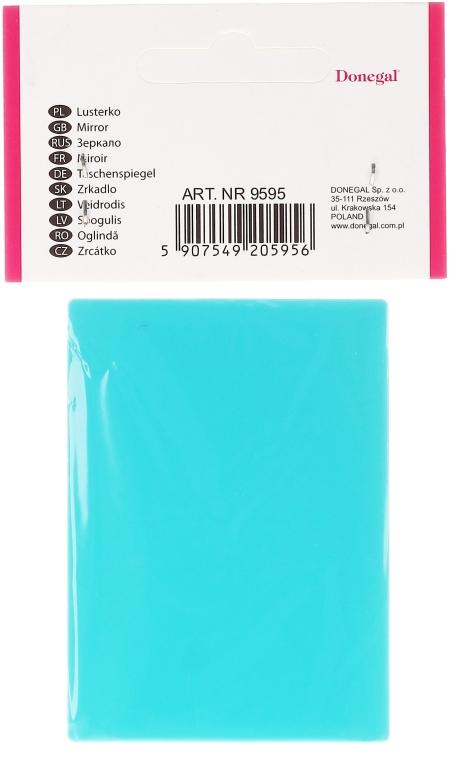 Lusterko prostokątne, 9595, niebieskie - Donegal Mirror — фото N2