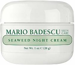 Kup Krem na noc z ekstraktami z wodorostów - Mario Badescu Seaweed Night Cream