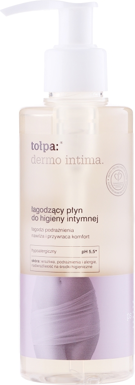 Łagodzący płyn do higieny intymnej - Tołpa Dermo Intima