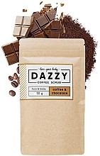 Kup PRZECENA! Peeling do twarzy i ciała Kawa i czekolada - Dazzy Coffee Face & Body Scrub Coffee & Chocolate *