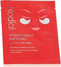 Kup Maska w płacie do skóry wokół oczu - Rodial Dragon's Blood Eye Masks