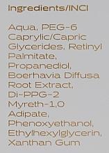 Odmładzające serum do twarzy z retinolem - Nanoil Face Serum Retinol — фото N4
