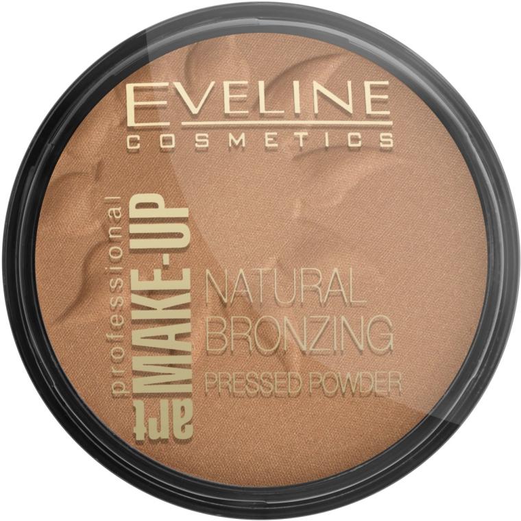 Prasowany puder brązujący - Eveline Cosmetics Art Professional Make-Up
