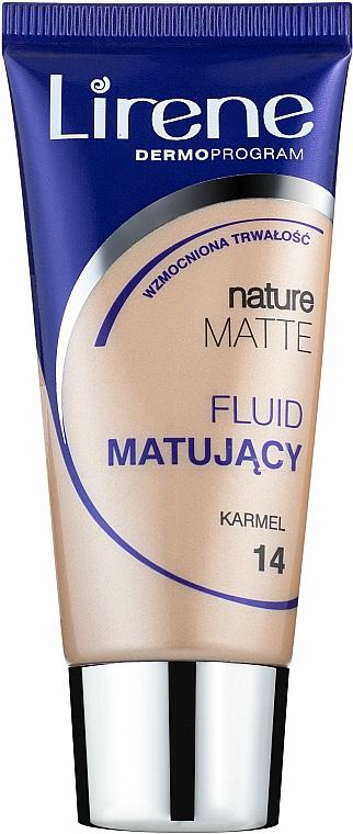 Fluid matujący - Lirene Nature Matte