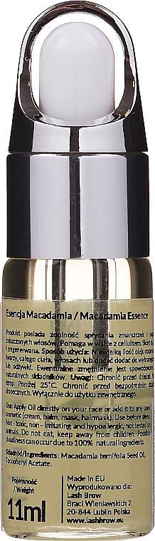 Esencja makadamia do twarzy, ciała i włosów - Lash Brow Macadamia Essence — фото N2