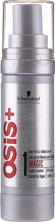 Nabłyszczające serum do włosów puszących się - Schwarzkopf Professional Osis+ Magic Finish Anti-Frizz Shine Serum — фото N1