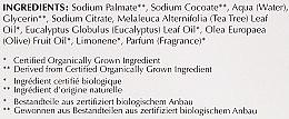 Głęboko oczyszczające mydło kosmetyczne Oliwki, drzewo herbaciane i eukaliptus - Bentley Organic Body Care Deep Cleansing Soap Bar — фото N4