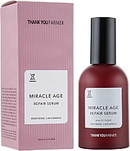 Kup Rozjaśniające serum przeciwzmarszczkowe do twarzy - Thank You Farmer Miracle Age Serum