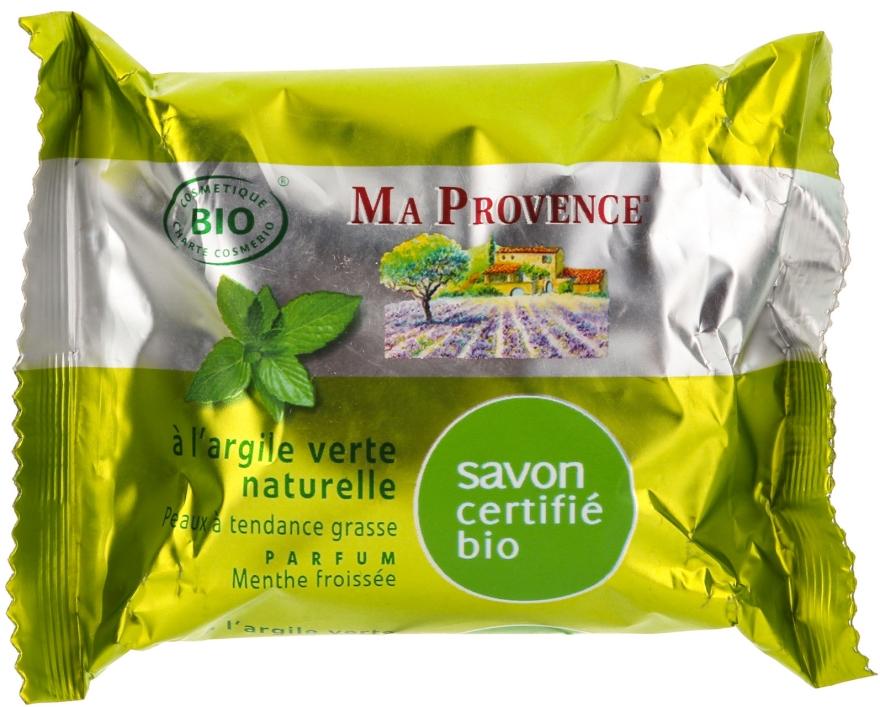Naturalne mydło w kostce Mięta - Ma Provence Mint Nature Soap — фото N1