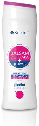 Nawilżający balsam do ciała z jedwabiem - Silcare Milky Yoghurt Body Balm — фото N1
