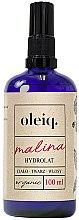 Kup Hydrolat z maliny do twarzy, ciała i włosów - Oleiq