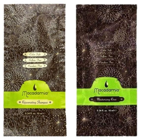 Zestaw - Macadamia Natural Oil (sh/10ml + cond/10ml) — фото N1