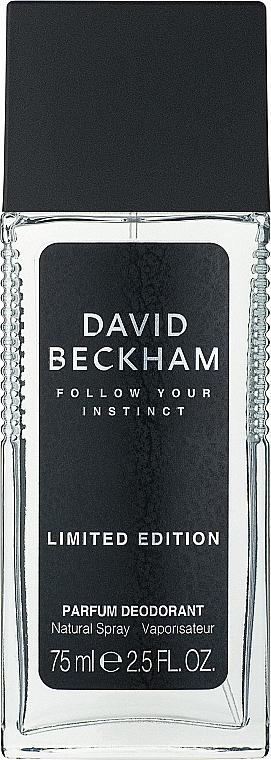 David Beckham Follow Your Instinct - Perfumowany dezodorant w atomizerze dla mężczyzn