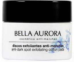 Kup Złuszczające płatki do twarzy przeciw plamom pigmentacyjnym - Bella Aurora Anti-Dark-Spot Exfoliation Cotton Pads