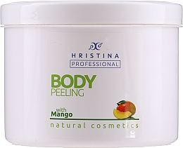 Kup Peeling do ciała z mango - Hristina Professional 100% Natural Mango Body Peeling