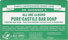 Kup Mydło w kostce Migdały - Dr. Bronner's Pure Castile Bar Soap Almond