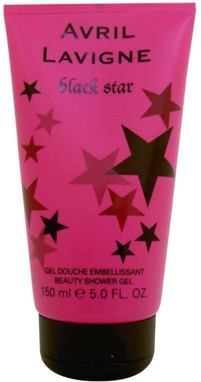 Avril Lavigne Black Star - Perfumowany żel pod prysznic — фото N2