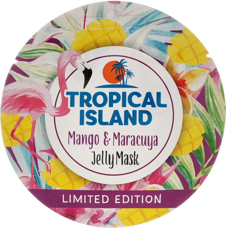 Żelowa maska do twarzy Mango i marakuja - Marion Tropical Island