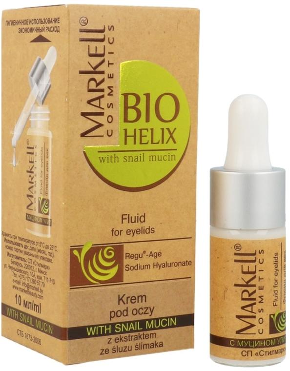 Krem pod oczy z ekstraktem ze śluzu ślimaka - Markell Cosmetics Bio-Helix Cream — фото N1