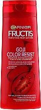 Kup Szampon wzmacniający do włosów farbowanych i z pasemkami - Garnier Fructis Goji Color Resist