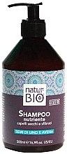 Kup Naturalny szampon do włosów suchych i zniszczonych - Renée Blanche Natur Green Bio Nourish Shampoo