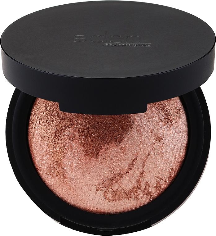 Rozświetlacz do twarzy - Aden Cosmetics Terracotta Highlighter