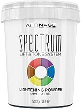 Kup Rozjaśniający puder do włosów - Affinage Salon Professional Spectrum Lightening Powder