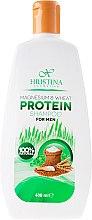 Kup Proteinowy szampon dla mężczyzn Magnez i pszenica - Hristina Cosmetics Magnesium & Wheat Protein Shampoo For Men