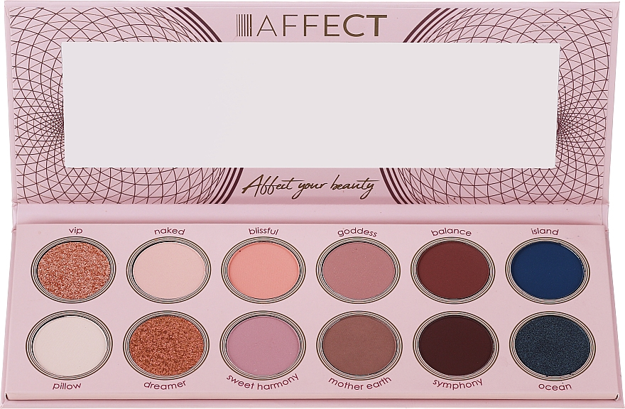 Paleta cieni do powiek - Affect Cosmetics Sweet Harmony