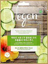 Kup Maseczka do twarzy z ekstraktem z ogórka, hibiskusa oraz witamin A i E. - Lomi Lomi Vegan Mask