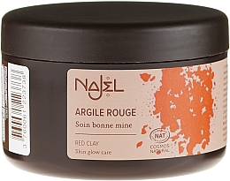 Kup Kosmetyczna glinka czerwona - Najel Red Clay For Healthy Glow