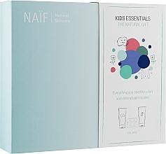 Kup Zestaw - Naif Kids Essentials the Natural Gift (sh/gel/200ml + shmp/200ml + b/bomb/8x24g)