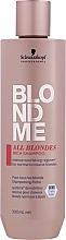 Kup Odżywczy szampon do włosów - Schwarzkopf Professional Blondme All Blondes Rich Shampoo