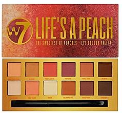 Kup Paleta cieni do powiek - W7 Life's A Peach Eyeshadow Palette