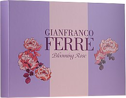 Kup Gianfranco Férre Blooming Rose - Zestaw (edt 50 ml + b/lotion 100 ml)