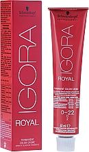 Kup PRZECENA! Trwały krem koloryzujący do włosów - Schwarzkopf Professional Igora Royal*