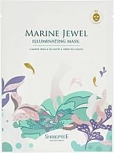 Kup Rozświetlająca maseczka w płachcie do twarzy - Shangpree Marine Jewel Illuminating Mask