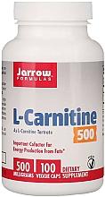 Kup L-karnityna w kapsułkach - Jarrow Formulas L-Carnitine 500mg