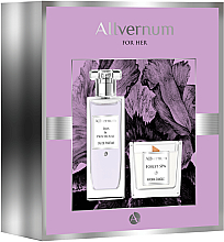 Kup Allvernum Iris & Patchouli - Zestaw (edp/50ml + candle/100g)