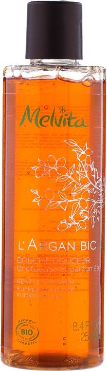 Delikatny żel pod prysznic z olejem arganowym - Melvita L'Argan Bio Gentle Shower A Unique Fragrance In A Smooth Gel — фото N1