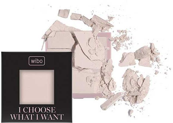 Bezbarwny puder utrwalający do twarzy - Wibo I Choose What I Want HD Fixing Powder (wymienny wkład) — фото N2